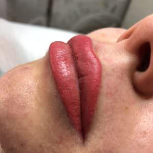 Перманентный макияж губ 3